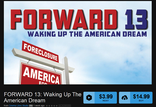 Forward 13: Waking Up the American Dream Available on Cinema Libre Studio On Demand
