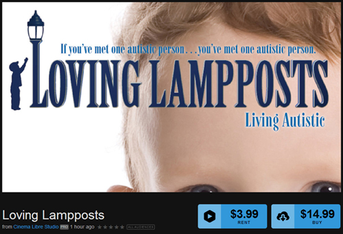 Loving Lampposts: Living Autistic is available for streaming or download.